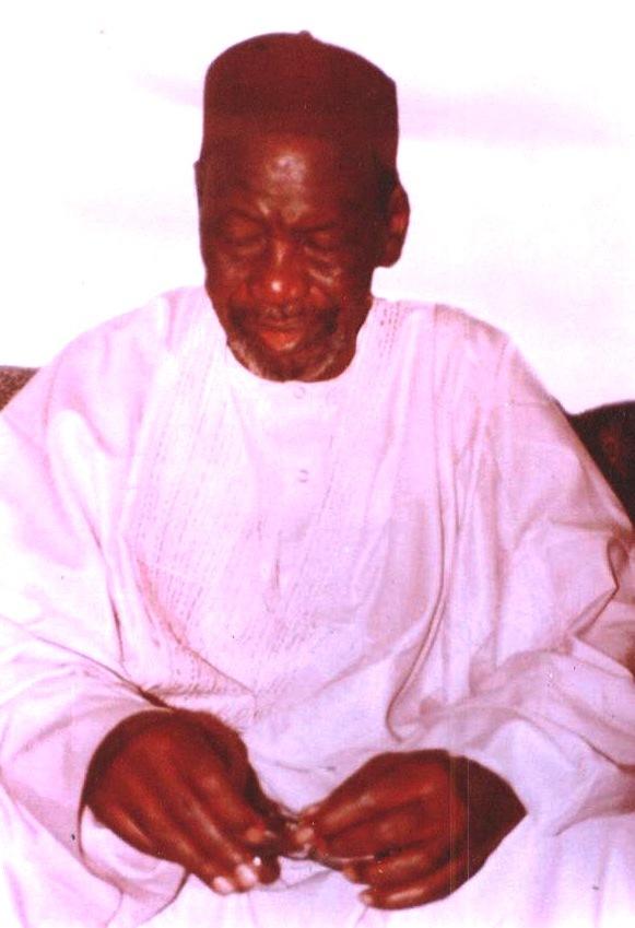 Mourchid Aboubacar SY, l'une de ses dernières photos