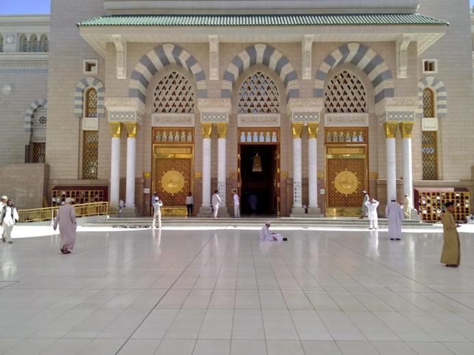 Esplanade de la Mosquée de Médine