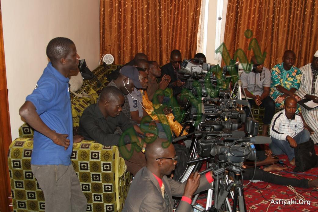 PHOTOS - Les Images du Point de Presse de Serigne Abdoul Aziz Sy Al Amine en prélude au Gamou de Tivaouane 2015