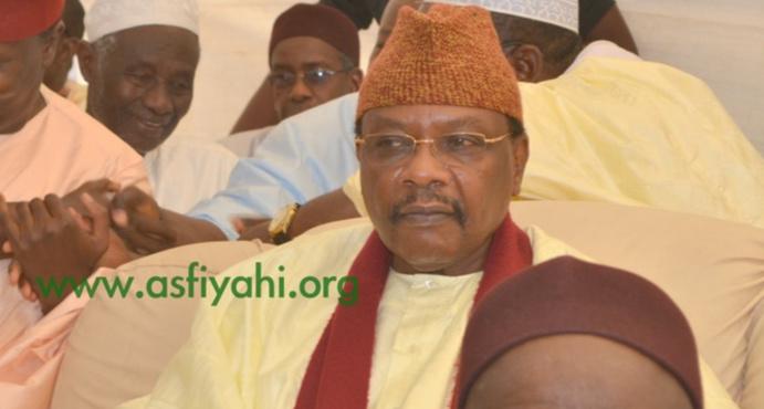 Magal de Serigne Cheikh MBACKE Gaindé Fatma : Serigne Pape Malick Sy a representé Serigne Cheikh Tidiane Sy Al Maktoum