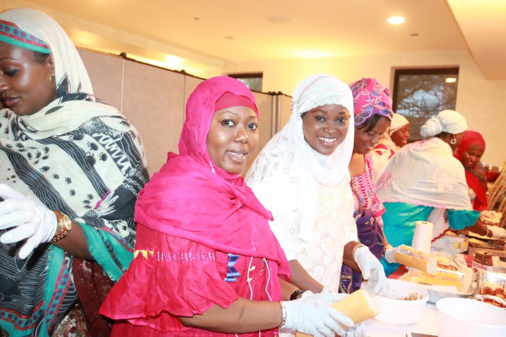 Mamy Diouf ( secrétaire génèrale), Amina Dabo et Houleye Diagne ( Vice présidente)