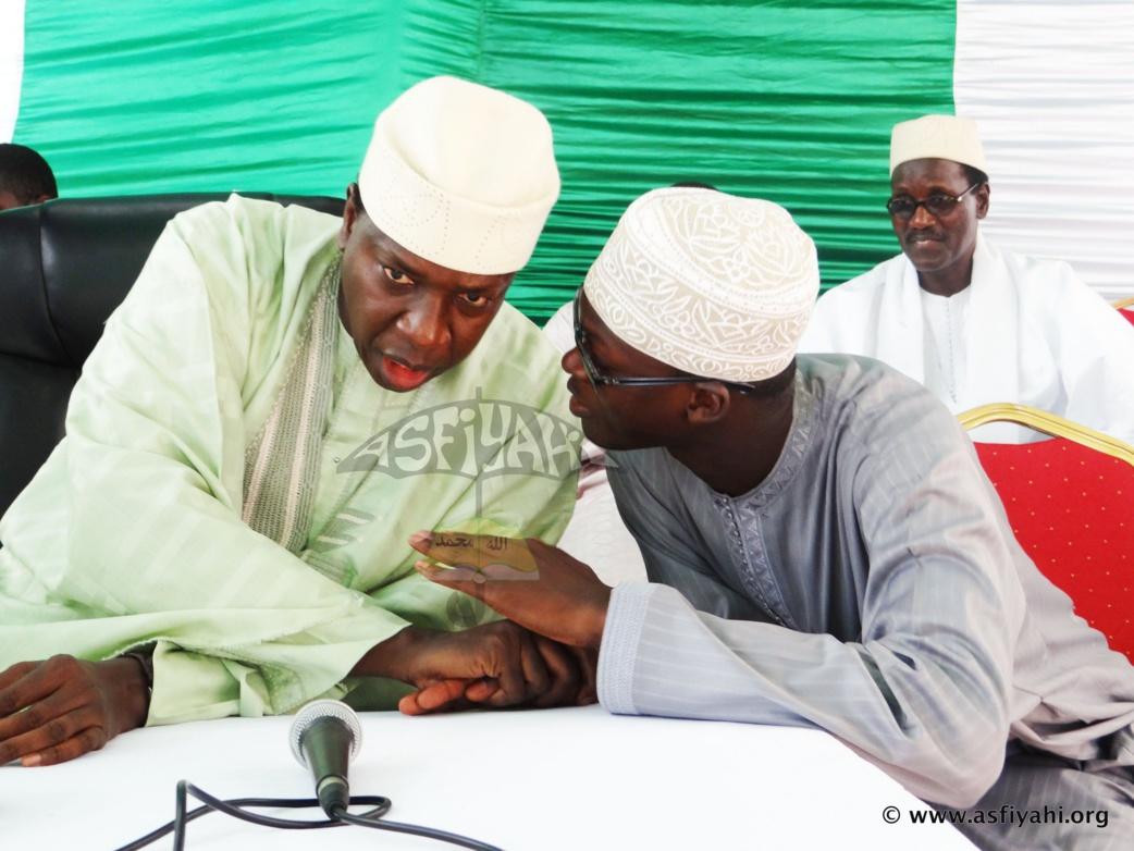 """PHOTOS - Les Images la Conférence du regroupement """"Tolou Alarba Serigne Cheikh Tidiane SY Al Maktoum"""" , organisée ce Samedi 15 Août 2015 à Liberté 6"""