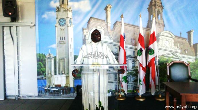 CANADA: Après la journée El Hadj Malick Sy, Serigne Moustapha Sy Abdou reçu au Conseil Municipal de la Mairie de Montréal
