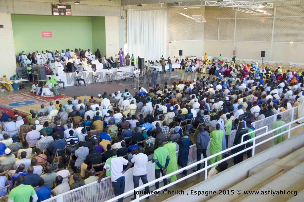 PHOTOS - ESPAGNE - Retour en Images sur la 1ére édition des Journées Cheikh (rta), présidées par Serigne Abdoul Aziz SY Al Amine les 30 , 31 et 1er Nov 2015 à Zaragoza