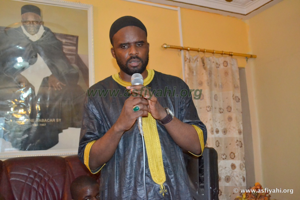 Serigne Pape Khalifa Ndiaye Ibn Sokhna Khady Sy bint Serigne Babacar SY (rta)