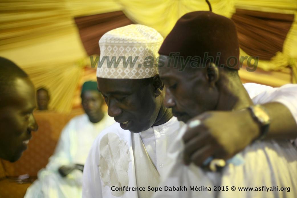 Arrivée de Serigne Mame Ousmane Sy Dabakh