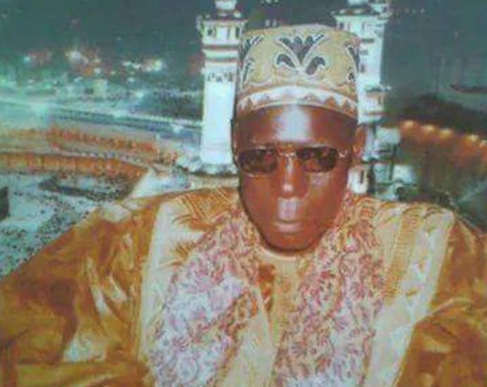 serigne Ousmane Gueye Khalif de Mbakhéne