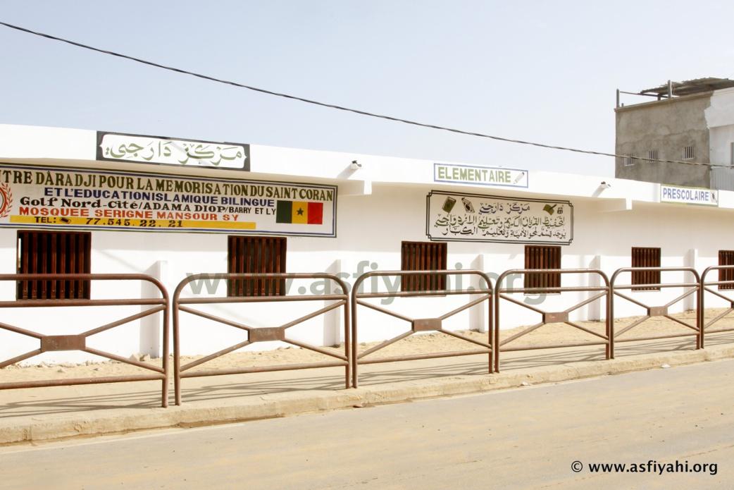 PHOTOS - Serigne Habib SY Mansour inaugure le centre Daara Ji de Golf Nord pour la mémorisation du Saint Coran et l'éducation islamique