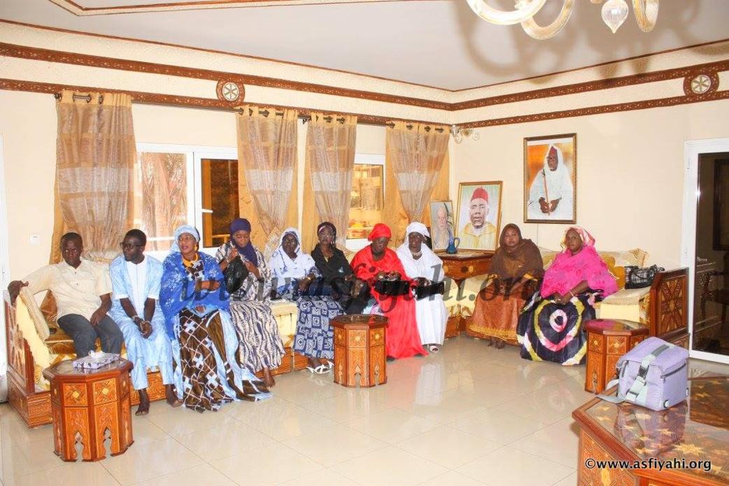 PHOTOS - Serigne Maodo SY Dabakh reçoit l'entente des mouvements et associations de développement (EMAD) dans le cadre du FESPENC 2016