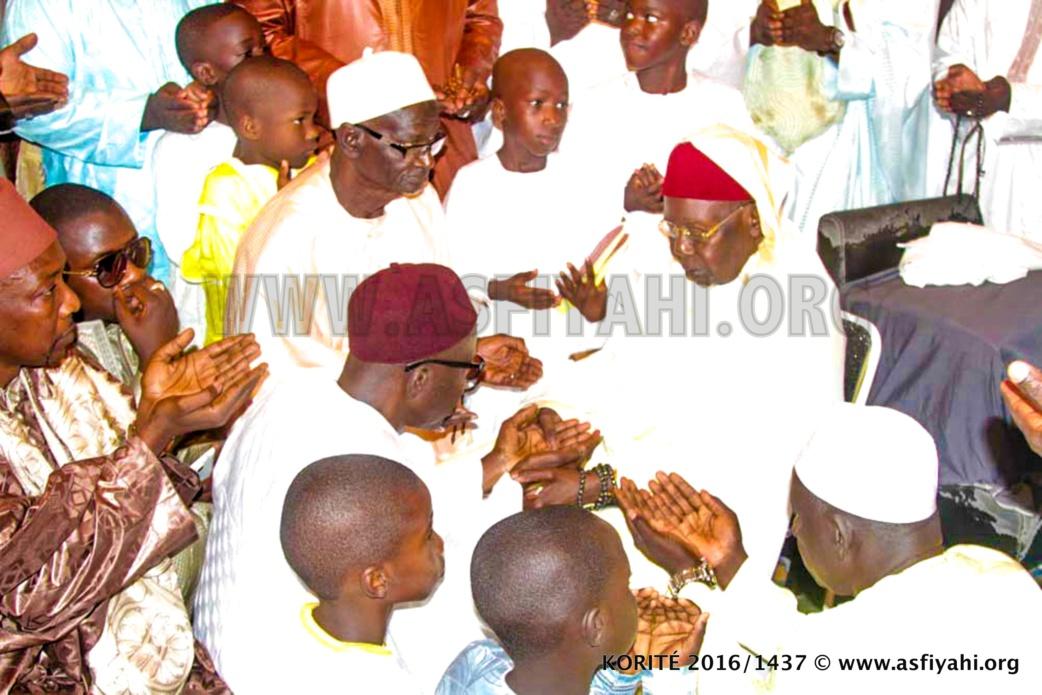 PHOTOS - KORITÉ 2016 À TIVAOUANE - Les Images de la Prière à la Mosquée Serigne Babacar SY (rta)