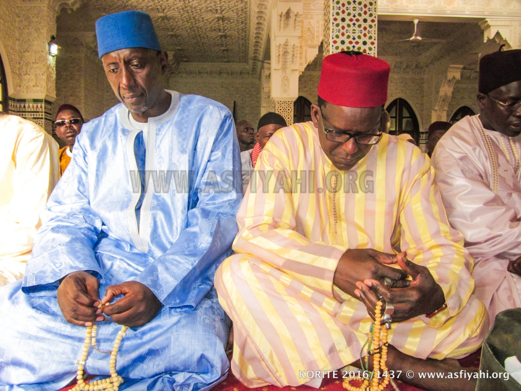 Serigne Iba Ndiaye et Serigne Abdoul Aziz Sy Djamil
