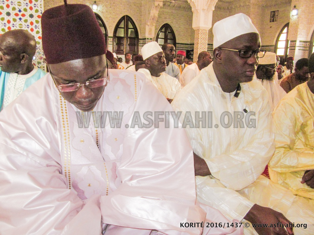 Serigne Sidy Ahmed et Serigne Mame Ousmane Sy Djamil