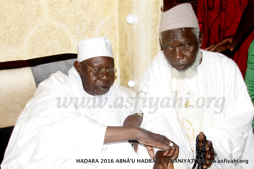 PHOTOS - 15 JUILLET 2016 À GUÉDIAWAYE - Réception de Serigne Abdoul Abdoul Aziz Al Amine chez Oustaz Fatah Sarr, initiateur du grand Hadratoul Djumah  au Stade Amadou Barry