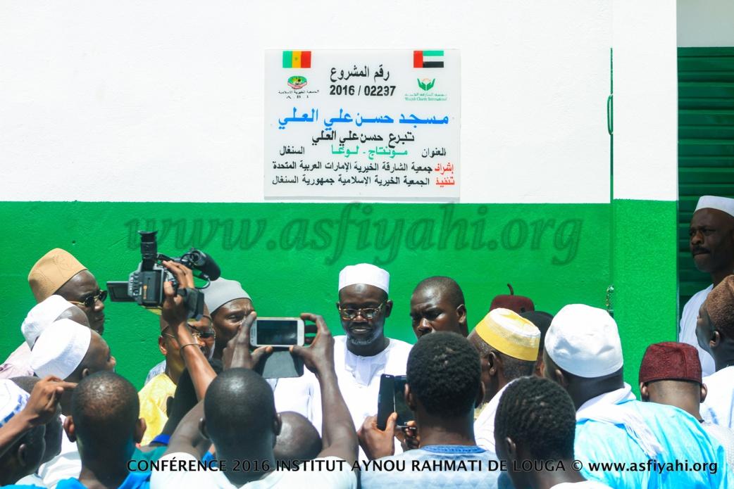 """PHOTOS - 16 JUILLET 2016 À LOUGA - Les images de la Conférence de l'institut Islamique """"Aynou Rahmati"""" Serigne Mansour Sy Borom Daara Ji, de Serigne Ahmed Sarr"""