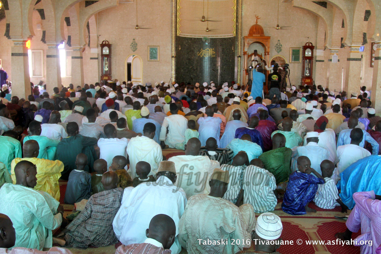PHOTOS - TABASKI 2016 À TIVAOUANE - Les Images de la Prière de l'Aïd à la Mosquée Serigne Babacar Sy (rta)