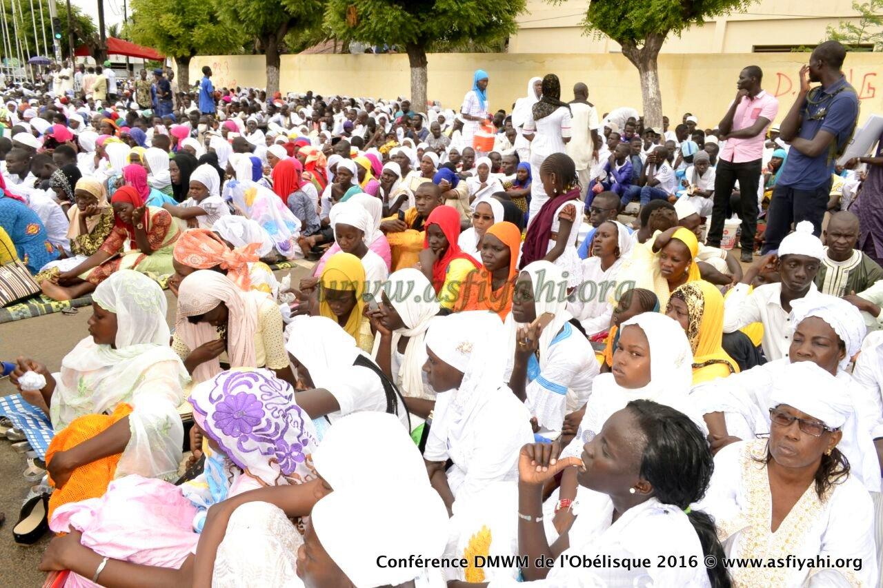 PHOTOS - Les Images de la Conférence de Serigne Moustapha SY à la place de l'Obélisque, ce Samedi 17 Septembre 2016