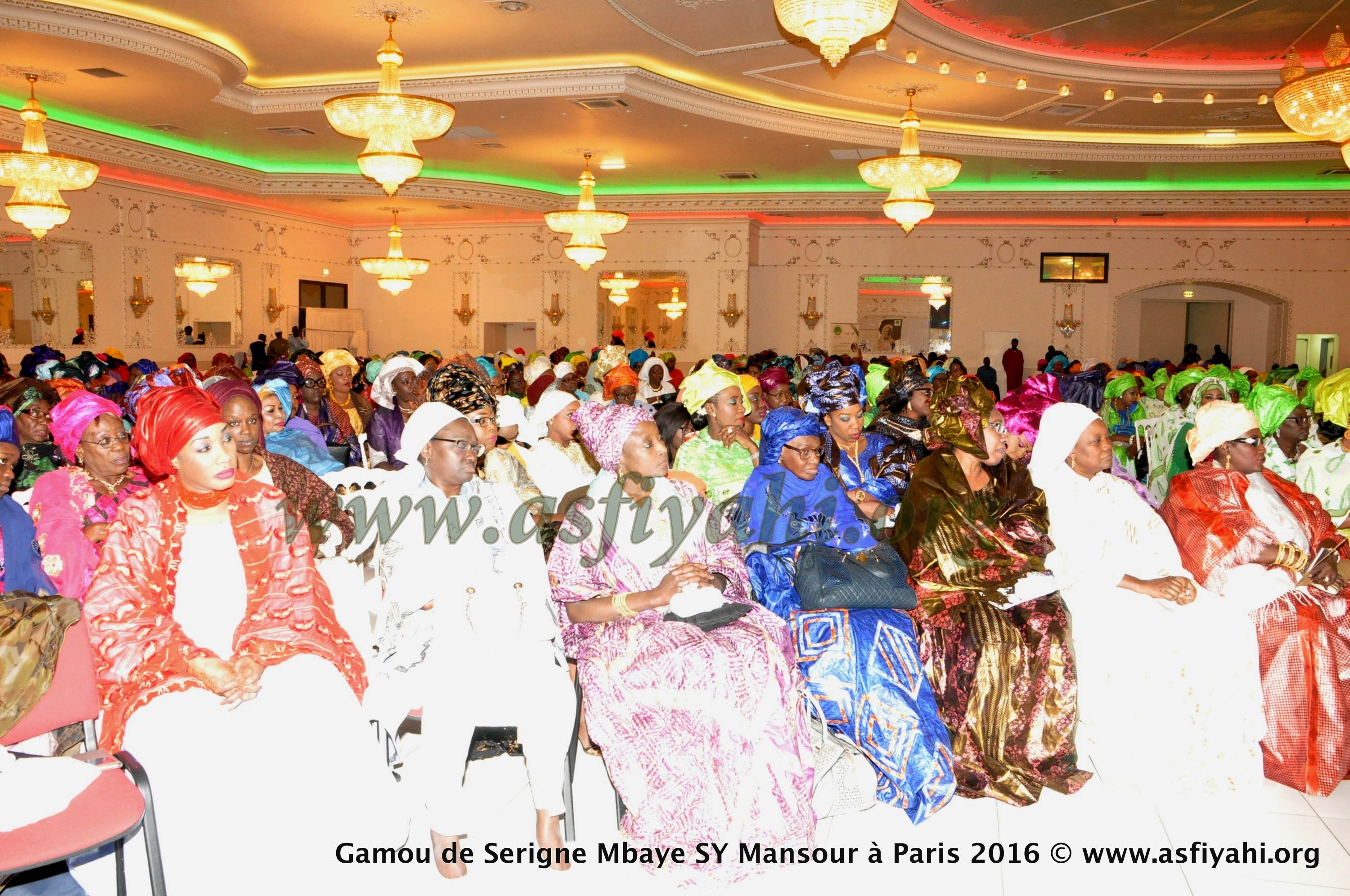 PHOTOS - PARIS - Les Images du Gamou de Paris 2016, organisé par la Dahira Moutahabina Filahi