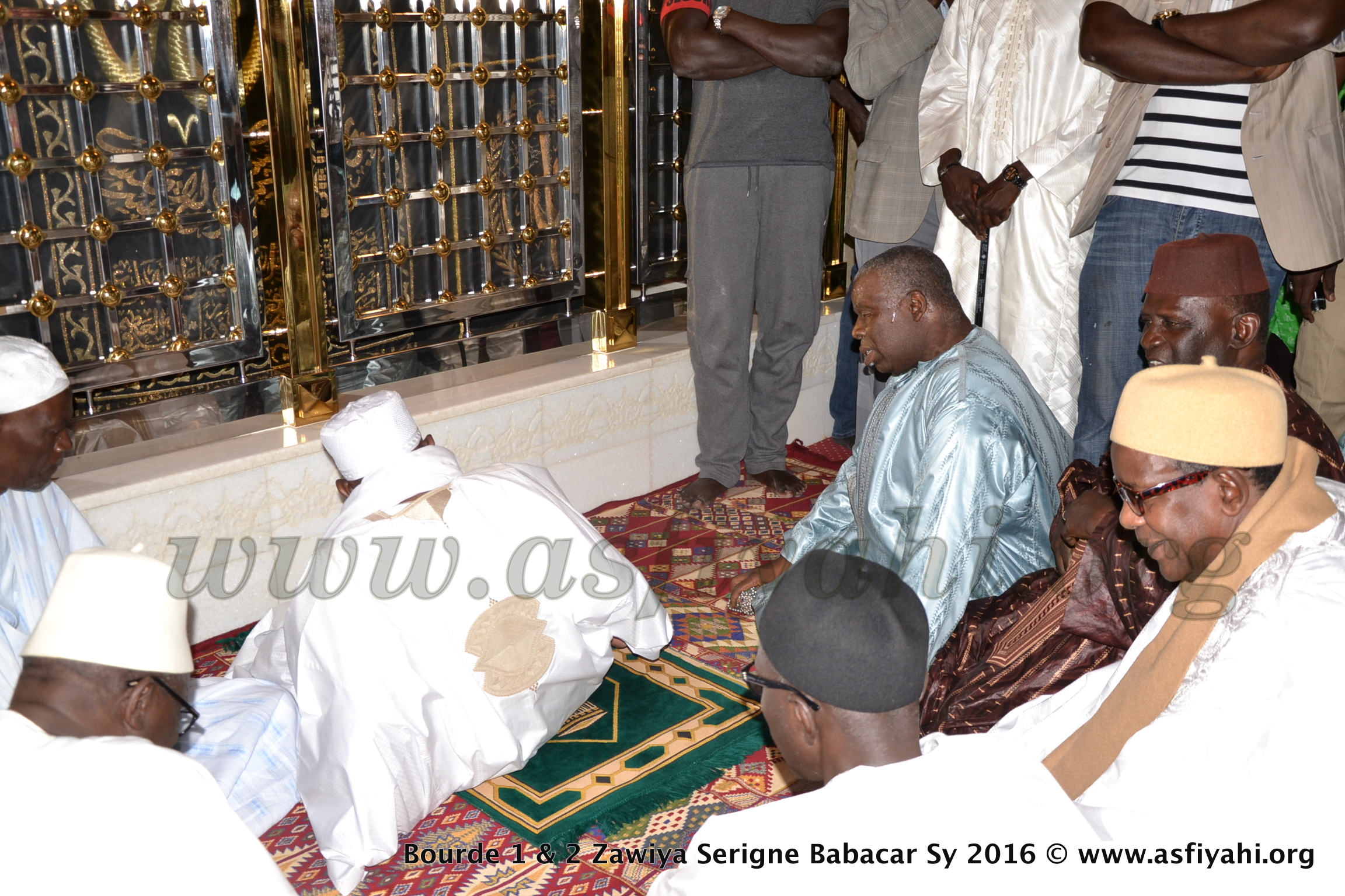 PHOTOS - GAMOU TIVAOUANE 2016 - Les Images de l'Ouverture du Bourdou 2016 à la Mosquée Serigne Babacar SY (rta) de Tivaouane
