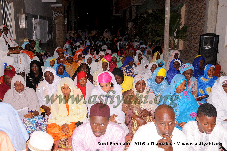 PHOTOS - BURD POPULAIRE GAMOU TIVAOUANE 2016 - Les Images de Diamalaye chez Serigne Alioune Sall Safietou SY