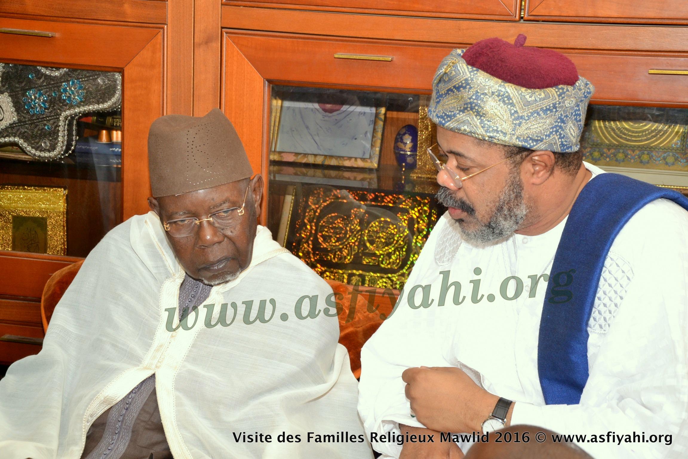 PHOTOS - Gamou Tivaouane 2016 - Reception de la delegation du Khalif des  Mourides et de Thierno Bachir Tall