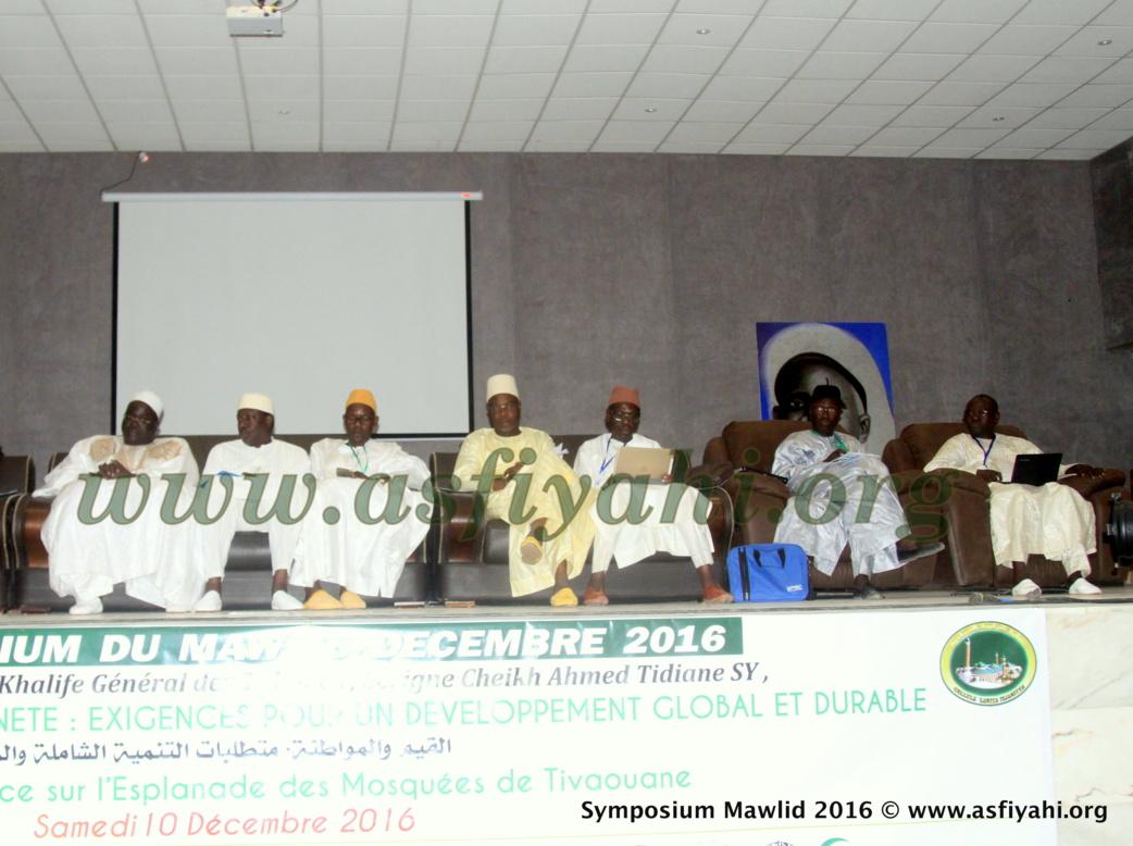 Declaration finale du Symposium du Mawlid , edition 2016