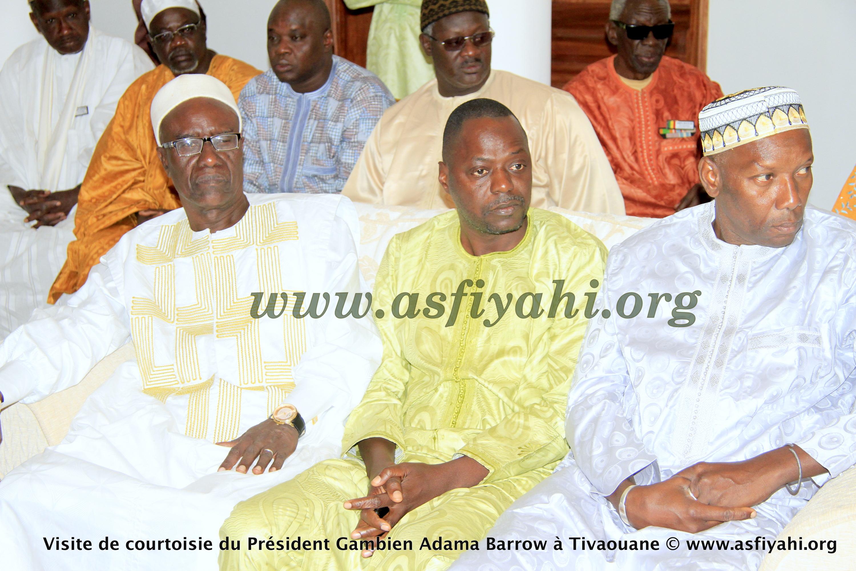 PHOTOS - Les Images de la Réception du President Gambien Adama Barrow à Tivaouane, ce Vendredi 3 Mars 2017