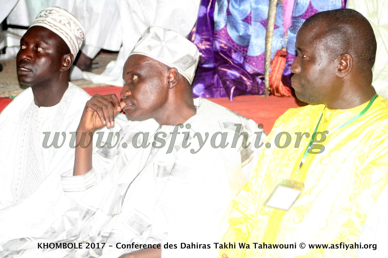 PHOTOS - KHOMBOLE 2017 - Les Images de la Conférence des Dahiras Takhi Wa Tahawouni présidée par le Khalif Général des Tidianes, Serigne Abdoul Aziz SY AL Amine