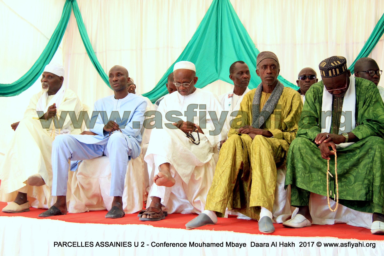 PHOTOS - 28 MAI 2017 AUX PARCELLES ASSAINIES U2 - Les images de la Conférence du Daara Al Haqq de Oustaz Mouhamed Mbaye