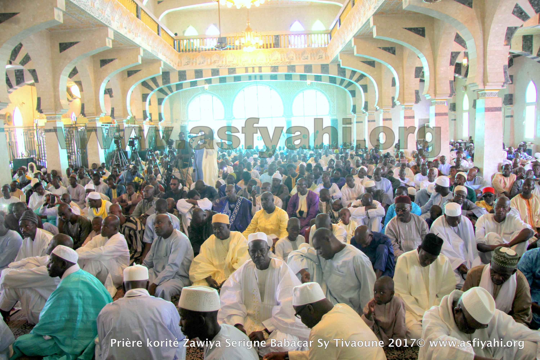 PHOTOS - KORITÉ 2017 À TIVAOUANE - Les Images de la Priere à la Mosquée Khalifa Babacar SY (rta)