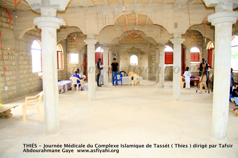PHOTOS - THIÉS - Les Images de la Journée médicale du Complexe Islamique de Tassét (Thies) dirigé par Tafsir Abdourahmane Gaye