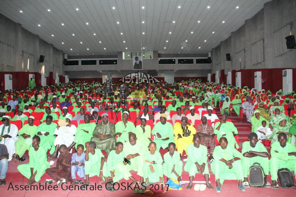 PHOTOS - TIVAOUANE - Les Images de l'Assemblée Générale du COSKAS, edition 2017, presidée par Serigne Pape Malick Sy