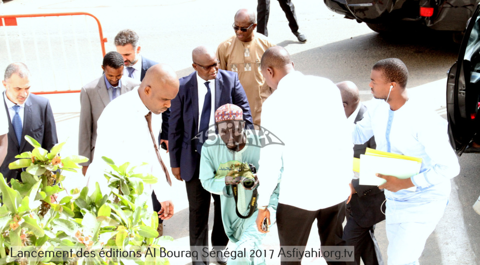 Photos les images du lancement des ditions al bouraq for Chambre de commerce dakar senegal