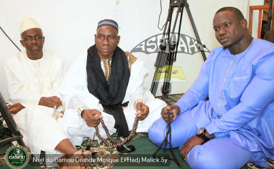 PHOTOS - Gamou Tivaouane 2017 - Les Images de la nuit du Gamou à la grande mosquée El Hadj Malick Sy (rta)
