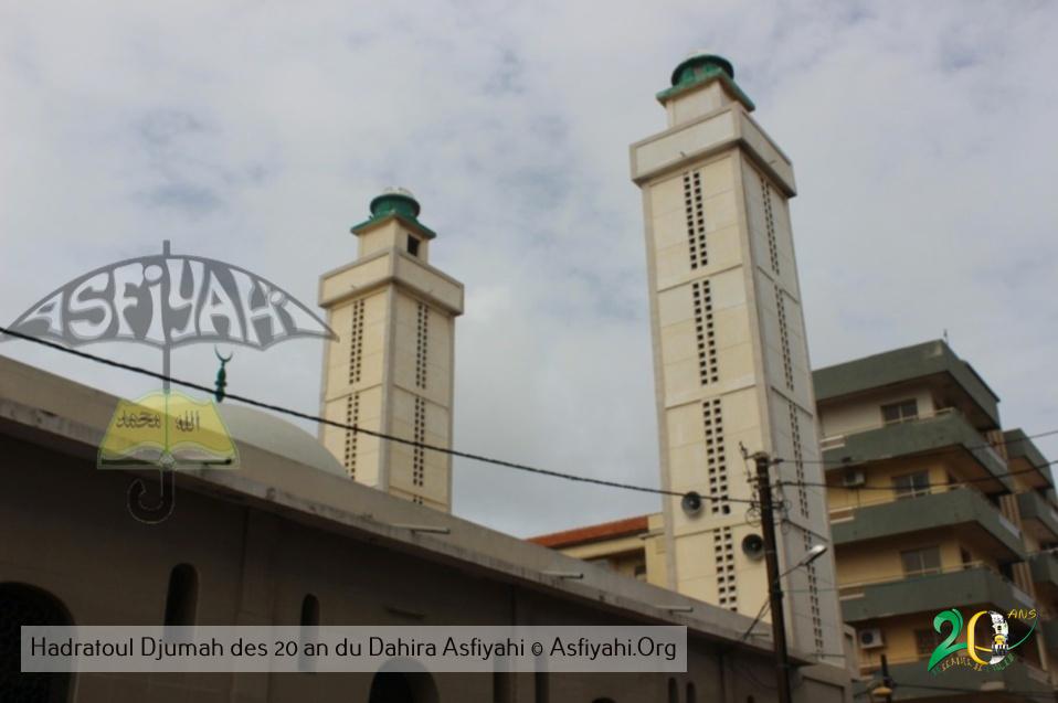 PHOTOS - 20 ans du Dahira Asfiyahi de Dakar Plateau - Les Images du Hadratoul Djumah en prélude à la Conférence du 1er janvier 2018