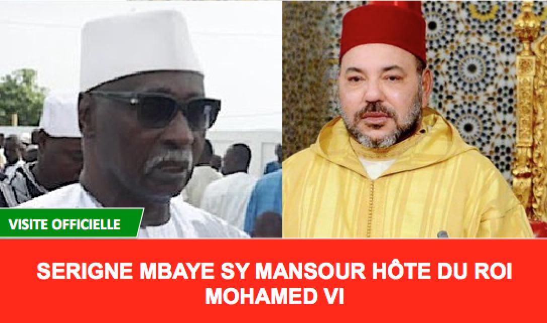 Le Khalif Général des Tidianes Serigne Babacar SY Mansour en visite au Maroc sur invitation du Roi Mohamed VI