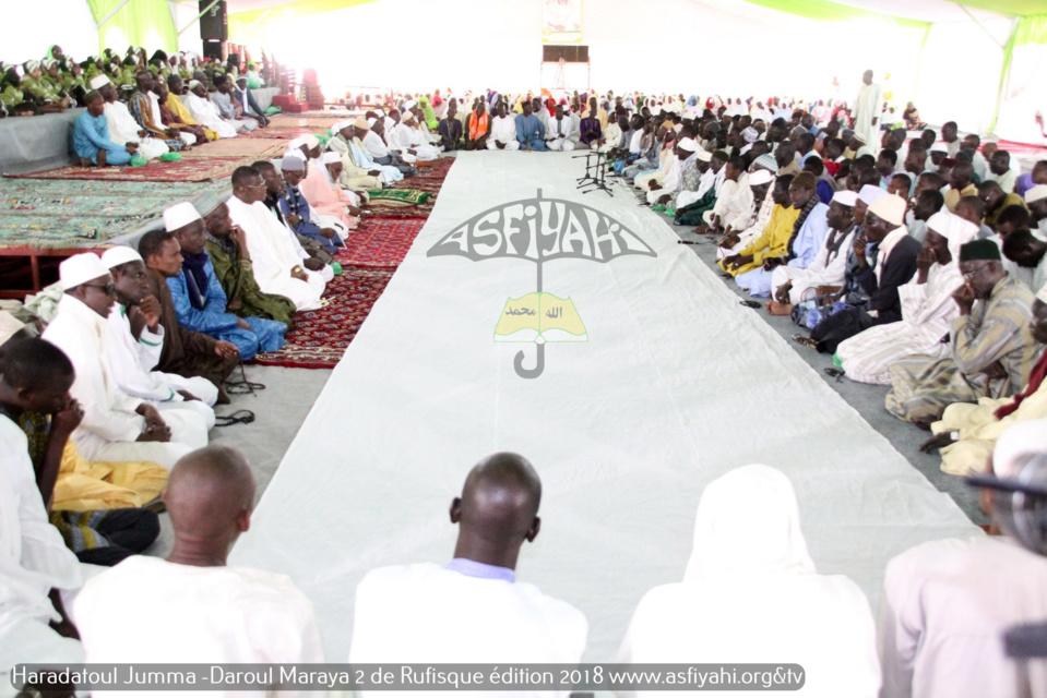 PHOTOS - RUFISQUE - Les images de la Hadratoul Djumah 2018 de l'institut Coranique Daaroul Maraya, sous l'égide du Khalif Cheikh Mouhamadoul Lamine Diop
