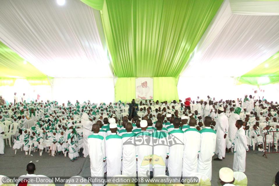 PHOTOS - RUFISQUE - Les images de la Conférence 2018 de l'institut Coranique Daaroul Maraya 2018, sous l'égide du Khalif Cheikh Mouhamadoul Lamine Diop
