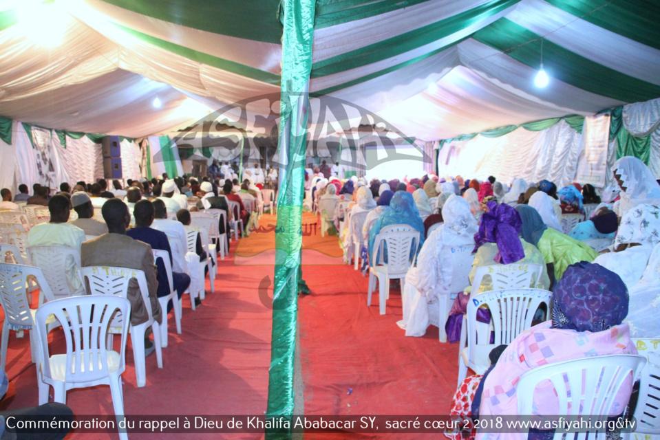 PHOTOS - SACRÉ COEUR 2 - Les Images de la commémoration du Rappel à Dieu de Serigne Babacar Sy (rta), édition 2018, organisée par le Dahiratoul Khayri wal Barakaty