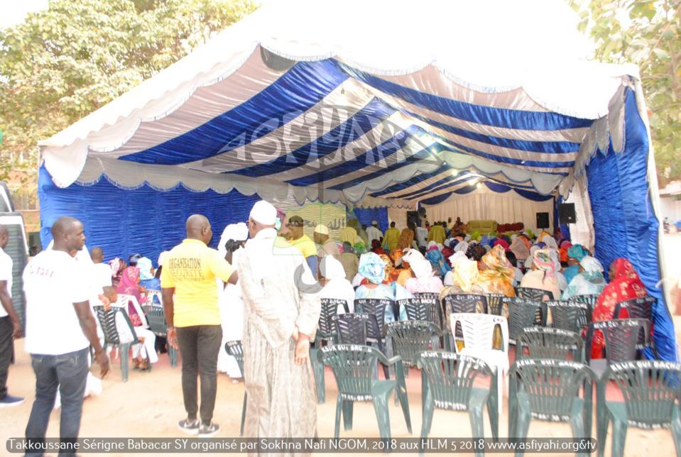 PHOTOS - HLM - Les Images du Takoussan Serigne Babacar Sy (rta) organisé par Sokhna Nafissatou Ngom