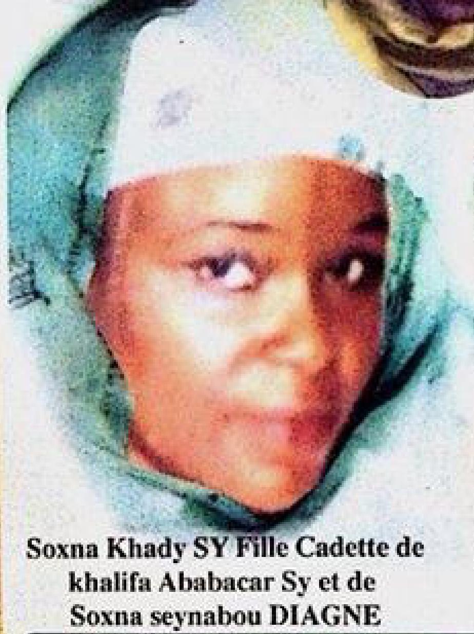 SOUVENIR - Sokhna Khady Sy Ibn Seydi Khalifa Ababacar Sy:Grenier de Valeurs et de Vertus (9 Avril 1996- 9 Avril 2018)