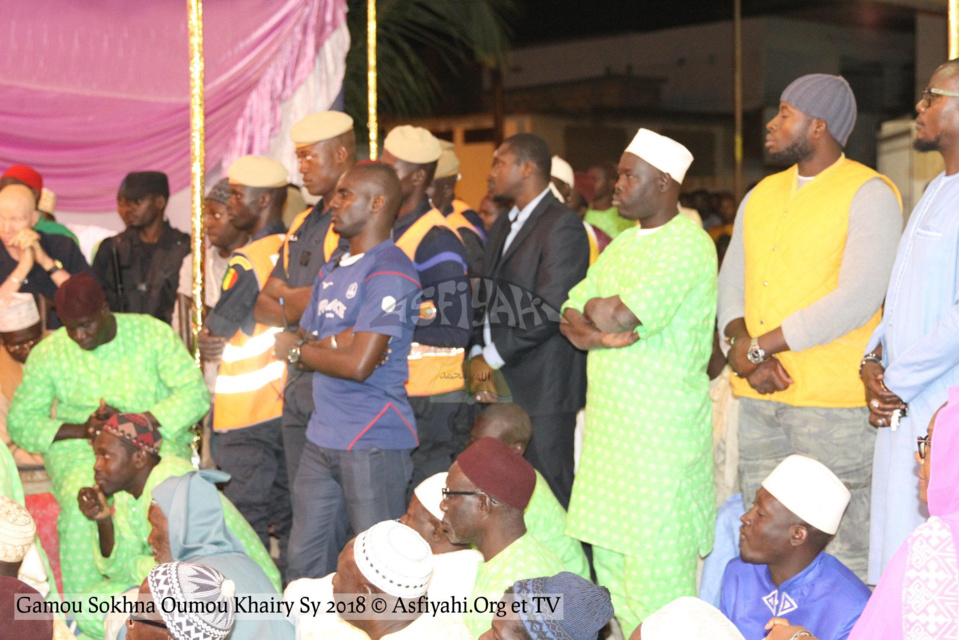 "PHOTOS - TIVAOUANE - Les Images du Gamou 2018 - Sokhna Oumou Khairy SY ""Borom Wagne Wi"" presidé par Serigne Mbaye Sy Mansour et Serigne Pape Malick Sy"