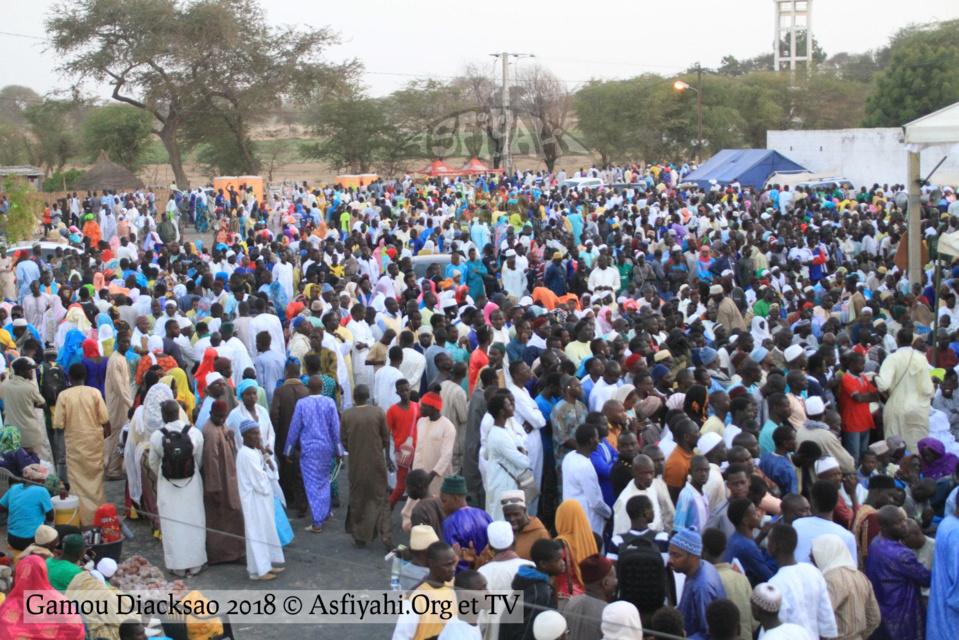 PHOTOS - GAMOU DIACKSAO 2018 - Les Images de la Cérémonie officielle, présidée par Serigne Mbaye Sy Mansour, Khalif General des Tidianes, ce Samedi 21 Avril 2018