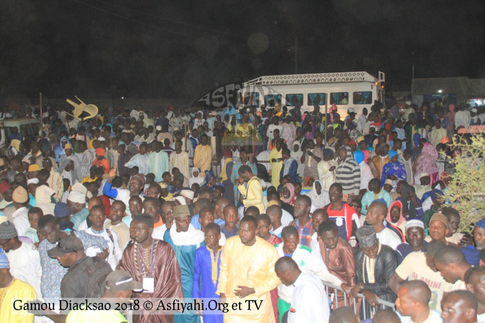 PHOTOS - GAMOU DIACKSAO 2018 - Les Images de la nuit du Gamou animé par Serigne Mbaye Sy Abdou