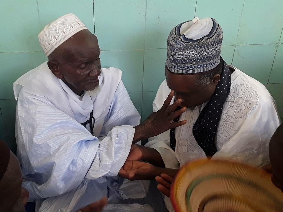 EN IMAGE - La tournée du khalif de Bambilor Thierno Amadou Ba dans le Fouta