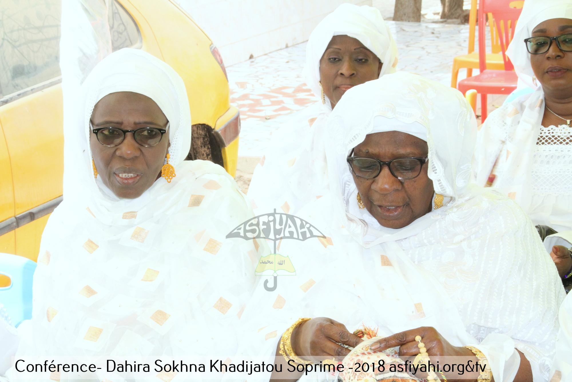 PHOTOS - CITE SOPRIM - Les Images de la Conférence de l'association Sopé Seydatouna khadija, Mère des Croyants , dirigée par Adja Ouly Niang