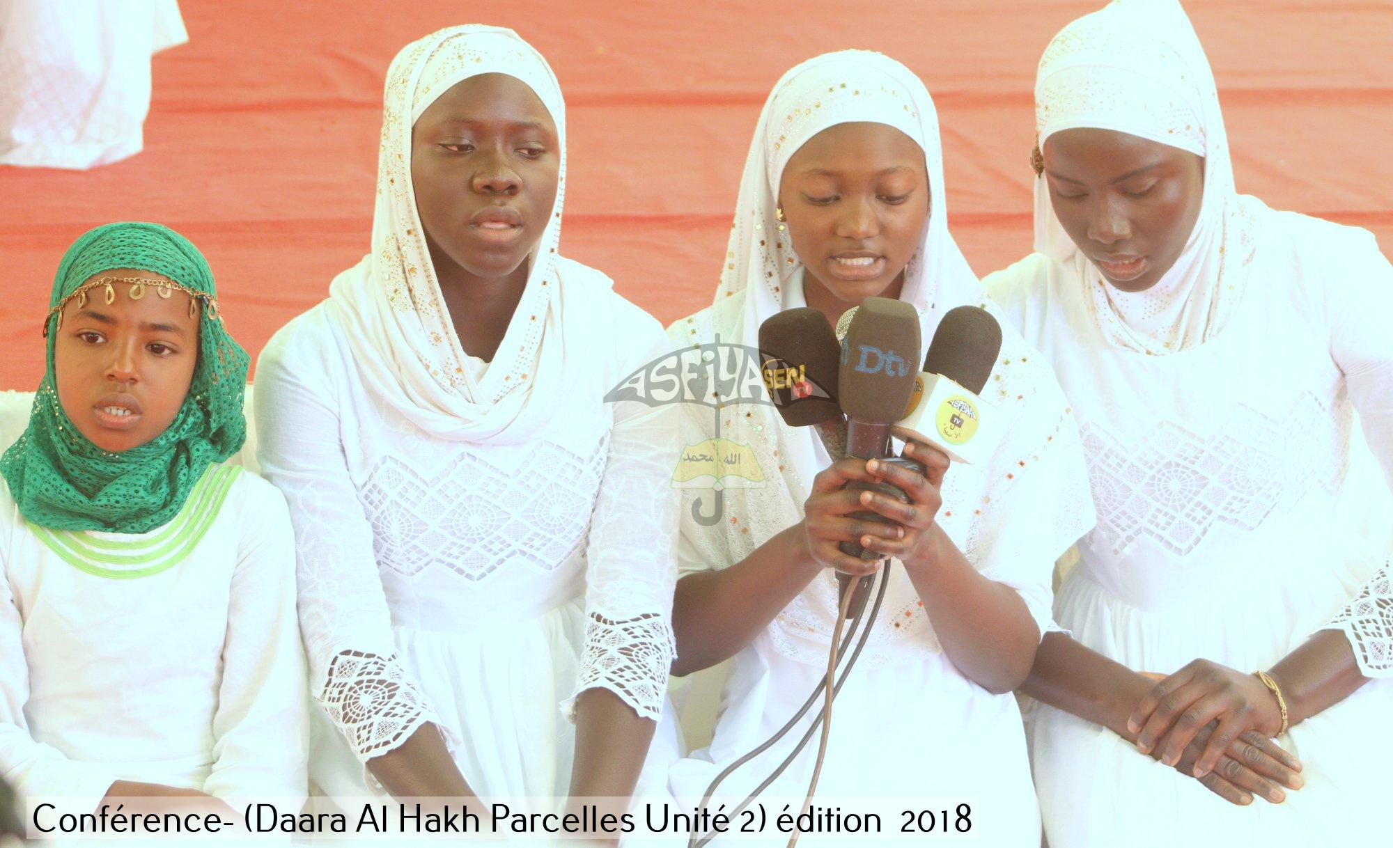 PHOTOS - PARCELLES ASSAINIES - Les images de la conférence 2018 du Daara Al Haqq de Oustaz Mouhamed Mbaye