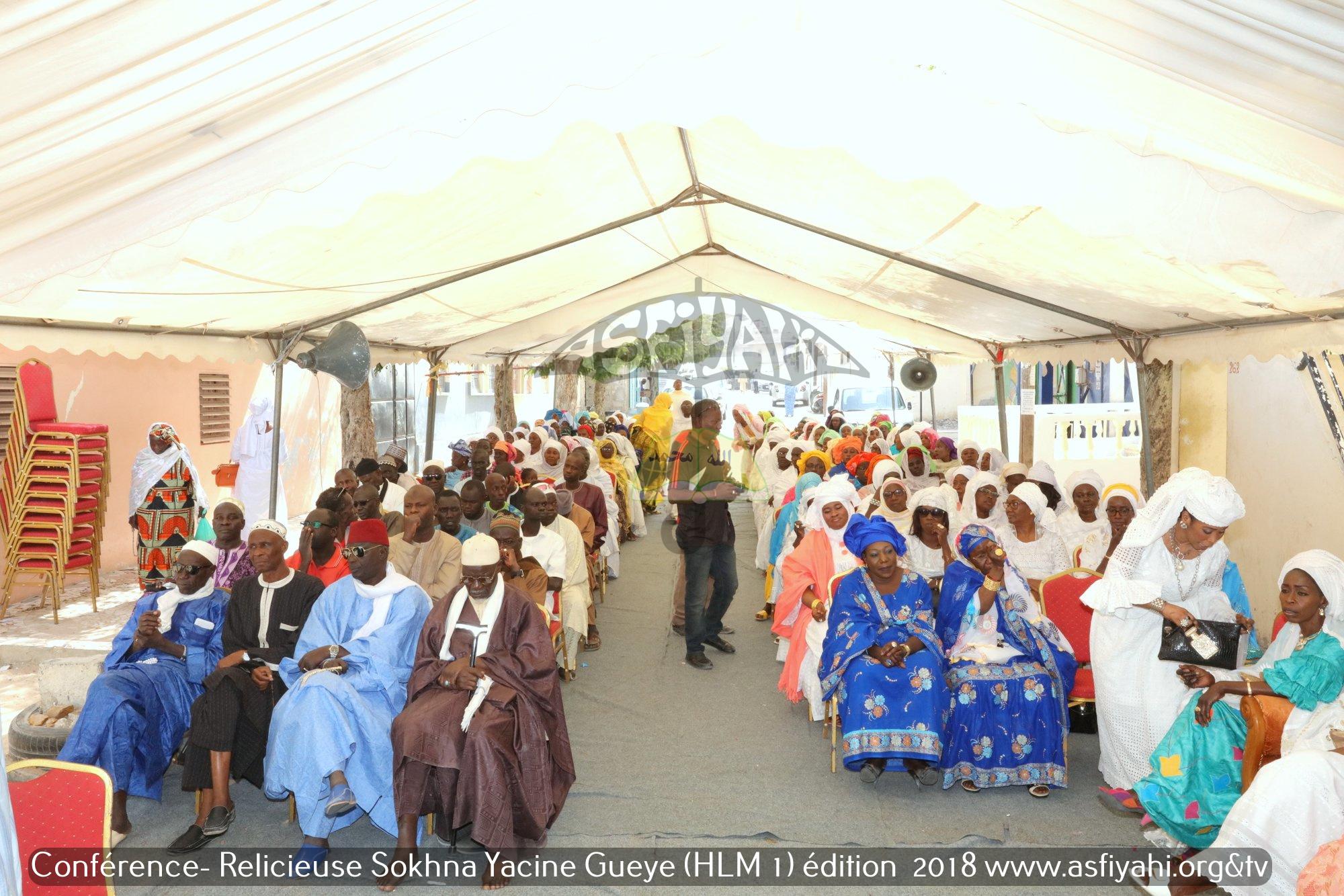PHOTOS - HLM - Conférence Religieuse organisée par Sokhna Yacine Gueye animée par Oustaz Cheikh Tidiane Biteye