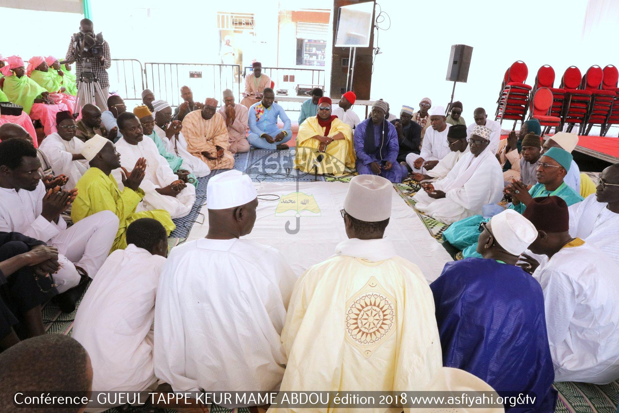 PHOTOS - Les images de la Conférence du Dahira MOUHSININA WAL MOUHSINATY, Samedi 26 Mai 2018 à la Geule-Tapée chez El hadj Abdoul Aziz Sy Dabakh