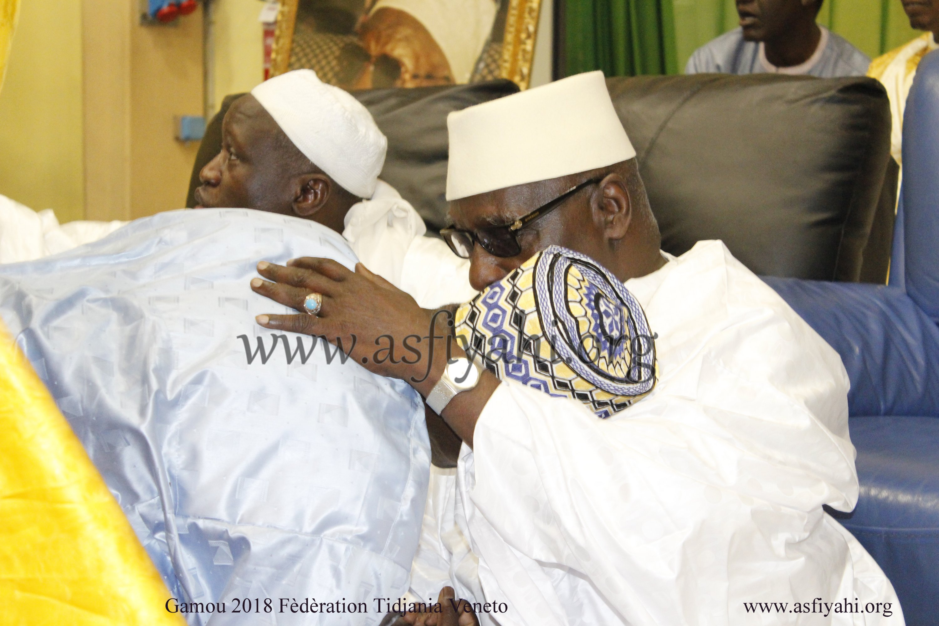 PHOTO - ITALIE - VICENZA : GAMOU FEDERATION TIDJANIA DE VENETO