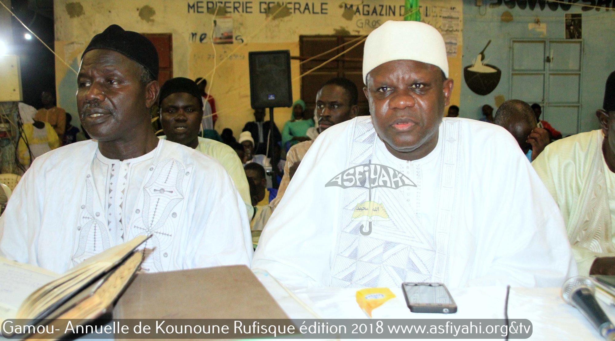 PHOTOS - KOUNOUNE 2018 - Les Images du Gamou de la Dahira Khaïry Wal Barakati de Kounoune présidé par Serigne Moustapha SY Abdou